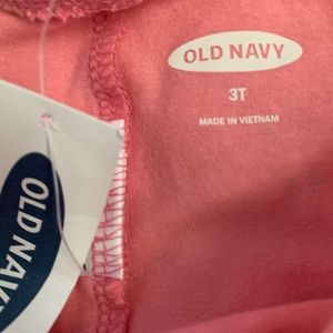 Old Navy Bottoms - NWT Adorable Old navy leggings with fllowers